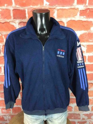 ADIDAS One World Veste Polartec VTG 90s XL - Gabba Vintage (3)
