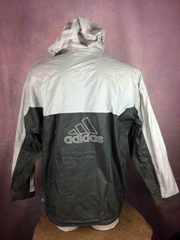 ADIDAS Rain Jacket Windproof Vintage 2001 Gabba Vintage 4 scaled - ADIDAS Rain Jacket Windproof Vintage 2001