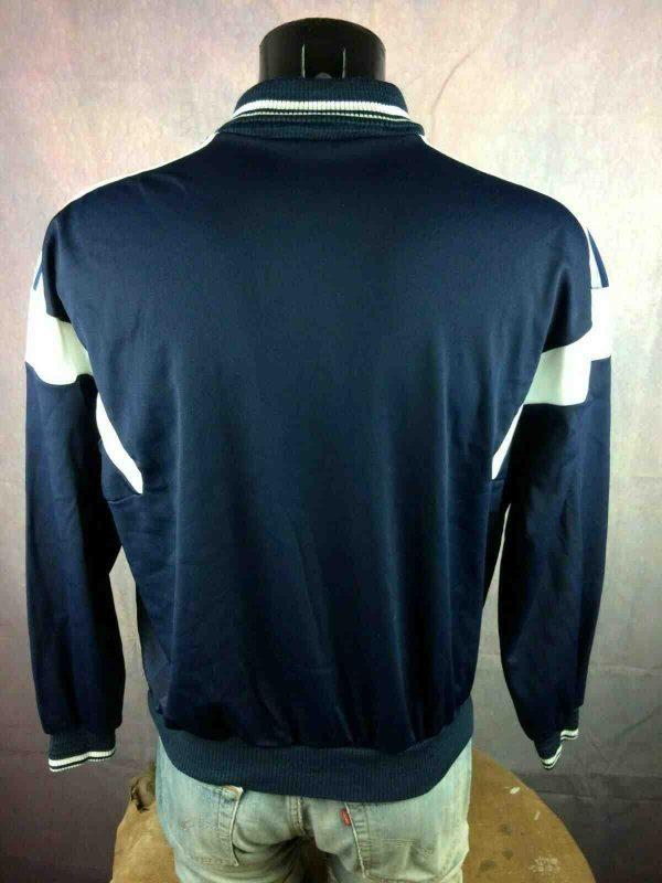 ADIDAS SweatShirt Vintage 80s Ventex Trefoil Gabba Vintage 4 - ADIDAS Sweat Vintage Année 80 Ventex Trefoil