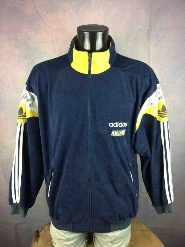 ADIDAS Team Veste VTG 90s Made in Tunisia - Gabba Vintage (2)