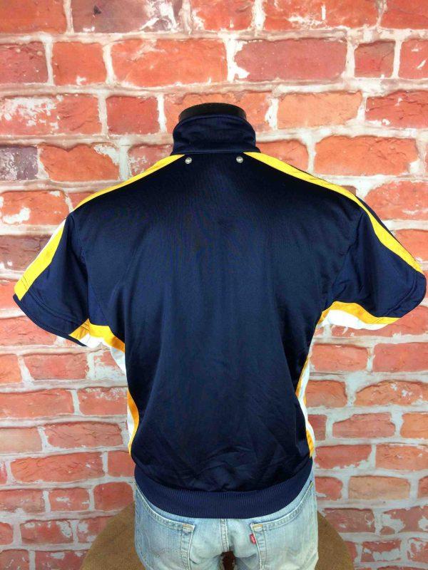 ADIDAS Veste Short Sleeves Vintage 90s Bleu Gabba Vintage 6 scaled - ADIDAS Veste Vintage Années 90 Basketball