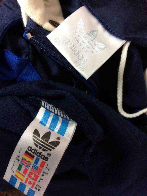 ADIDAS Veste Sweatshirt Hood Vintage 90s Gabba Vintage 1 scaled - ADIDAS Veste Vintage Années 90 Manches Sweat