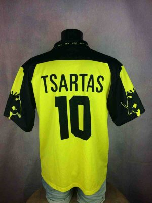 AEK ATHENS Jersey 1999 #10 Tsartas Replica - Gabba Vintage