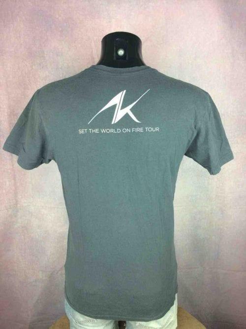 ALICIA KEYS T-Shirt World On Fire Tour 2013 - Gabba Vintage