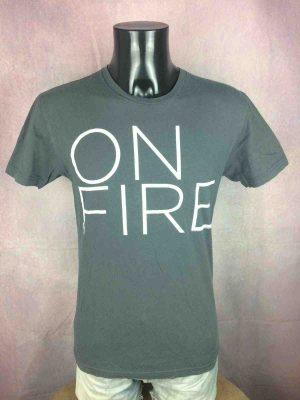 T-Shirt ALICIA KEYS, édition Set The World On Fire Tour 2013, double face, Official License, marque Next Level, Live Concert Soul