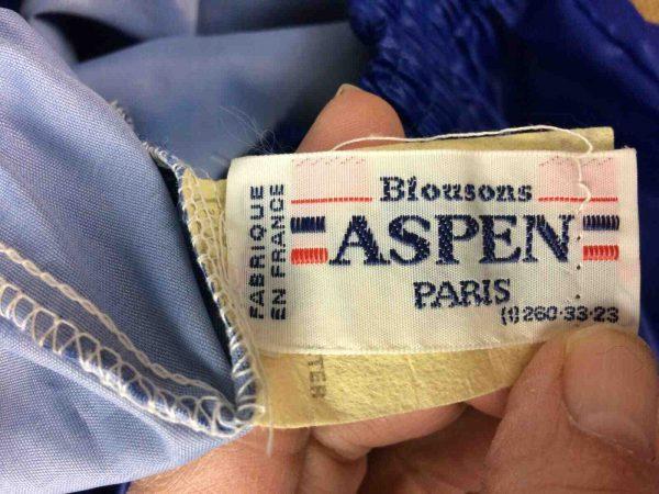 ASPEN Windbreaker Made in France Vintage 80s Gabba Vintage 4 - ASPEN Windbreaker Made in France Vintage 80s
