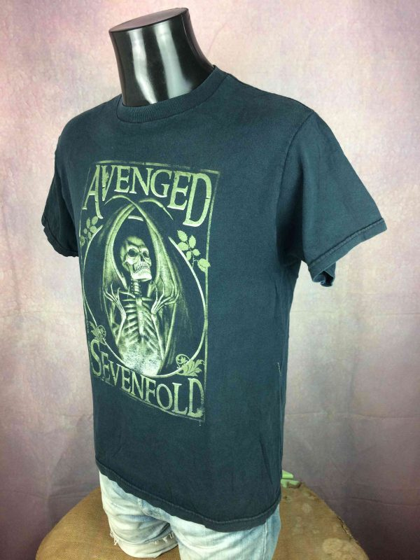 AVENGED SEVENFOLD T Shirt Vintage 2005 Gabba Vintage 4 scaled - AVENGED SEVENFOLD T-Shirt Vintage 2005