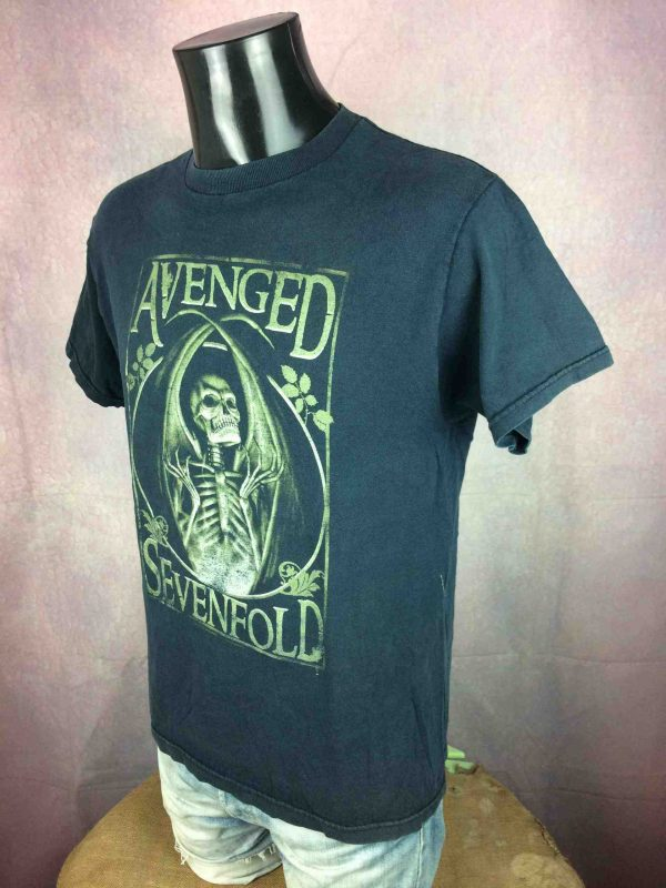 AVENGED SEVENFOLD T Shirt Vintage 2005 Gabba Vintage 4 scaled - AVENGED SEVENFOLD T-Shirt Vintage 2005