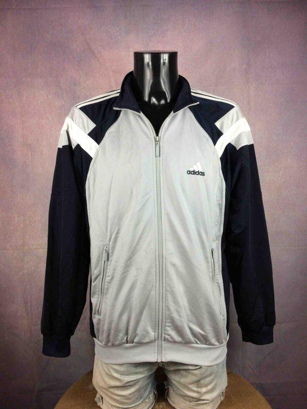 Adidas Veste Vintage 00s 2002 Rave Y2K Logo Gabba Vintage 1 scaled - ADIDAS Veste Vintage 00s 2002 Rave Y2K Logo