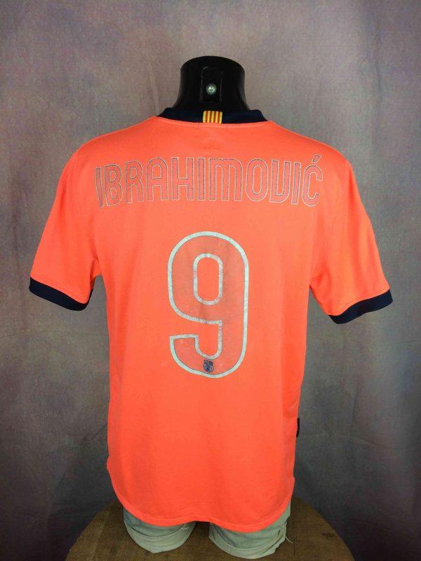 BARCELONA FC Jersey Ibrahimovic #9 2009 Nike - Gabba Vintage