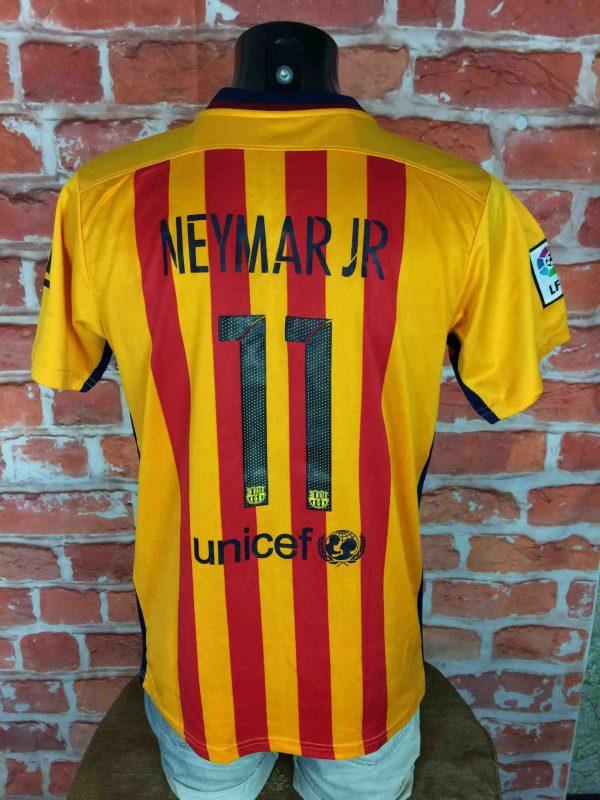 BARCELONA Jersey 11 Neymar JR 2015 Replica Gabba Vintage 5 scaled - BARCELONA Jersey #11 Neymar JR 2015 Replica