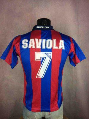 BARCELONA Jersey 2004 2005 Saviola #7 Home - Gabba Vintag