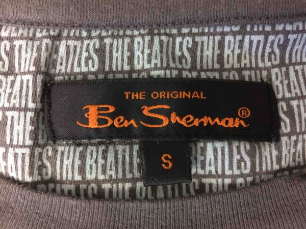 BEN SHERMAN T Shirt The Beatles Warhol 2010 Gabba Vintage 2 scaled - THE BEATLES T-Shirt Ben Sherman Warhol 2010