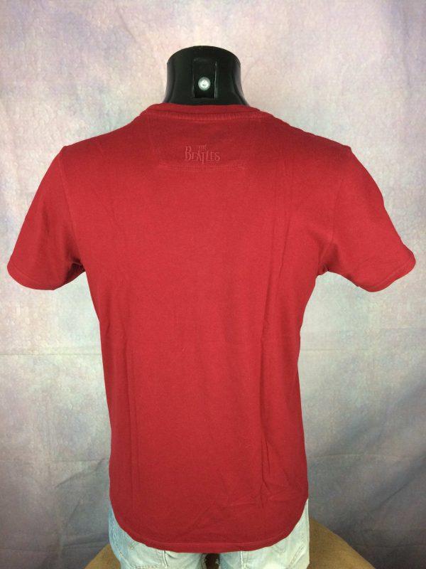 BEN SHERMAN T Shirt The Beatles Warhol Red Gabba Vintage 4 scaled - BEN SHERMAN T-Shirt The Beatles Warhol Red