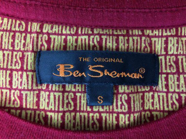BEN SHERMAN T Shirt The Beatles Warhol Red Gabba Vintage 5 scaled - BEN SHERMAN T-Shirt The Beatles Warhol Red