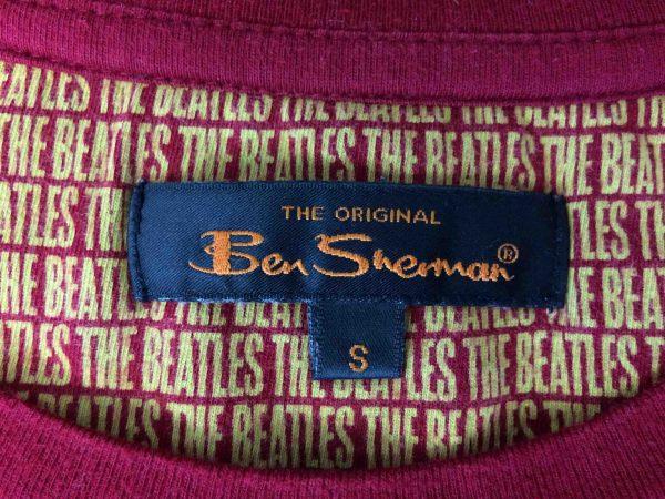 BEN SHERMAN T Shirt The Beatles Warhol Red Gabba Vintage 5 scaled - THE BEATLES T-Shirt Ben Sherman 2010 Warhol