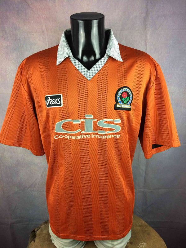 BLACKBURN ROVERS Jersey 1997 1998 Away Asics - Gabba Vintage (2)