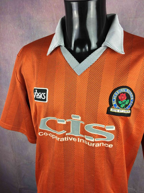 BLACKBURN ROVERS Jersey 1997 1998 Away Asics Gabba Vintage 3 scaled - BLACKBURN ROVERS Jersey 1997 1998 Away Asics