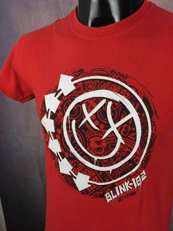 BLINK 182 T Shirt Tour 2012 20 Years Anniversary Concert Dates Festival Rock Punk Gabba Vintage 3 scaled - BLINK 182 T-Shirt Tour 20 Years Anniversary