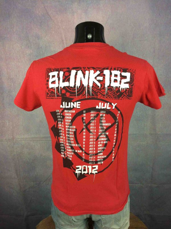 BLINK 182 T Shirt Tour 2012 20 Years Anniversary Concert Dates Festival Rock Punk Gabba Vintage 4 scaled - BLINK 182 T-Shirt Tour 20 Years Anniversary