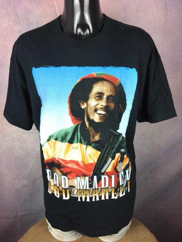 BOB MARLEY T Shirt Official License Wailers Gabba Vintage 2 scaled - BOB MARLEY T-Shirt Official License Wailers