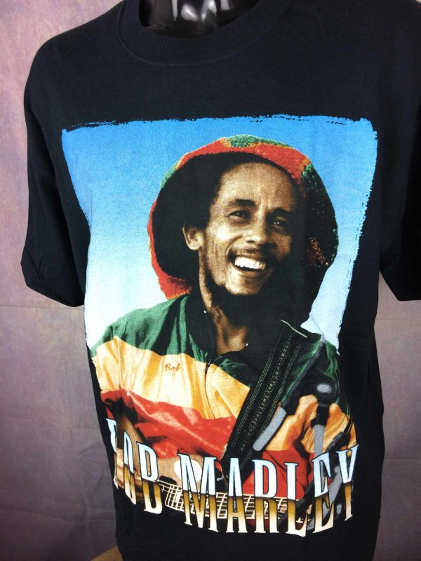 BOB MARLEY T Shirt Official License Wailers Gabba Vintage 3 scaled - BOB MARLEY T-Shirt Official License Wailers