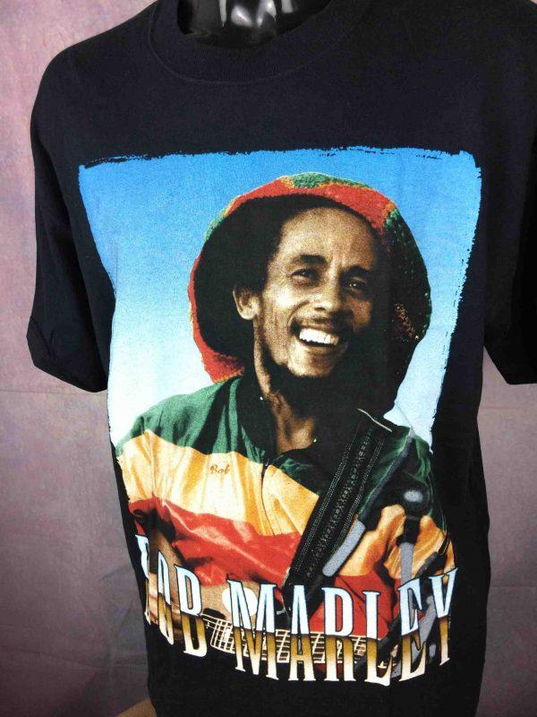 BOB MARLEY T Shirt Official License Wailers Gabba Vintage 3 scaled - BOB MARLEY T-Shirt Official License Wailers