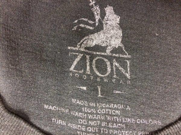 BOB MARLEY T Shirt Official Zion Rootswear Gabba Vintage 1 scaled - BOB MARLEY T-Shirt Official Zion Rootswear