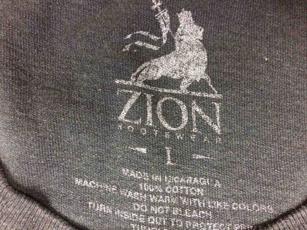 BOB MARLEY T Shirt Official Zion Rootswear Gabba Vintage 1 scaled - BOB MARLEY T-Shirt Zion Rootswear Official