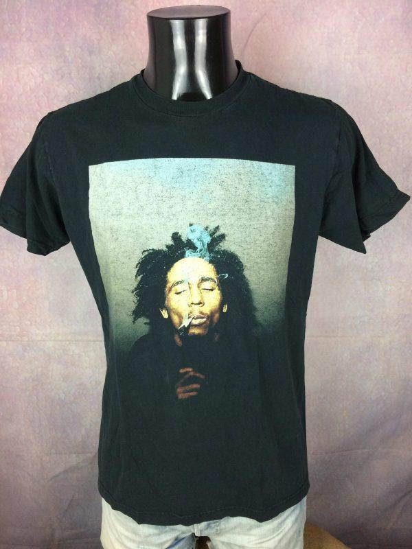 BOB MARLEY T Shirt Official Zion Rootswear Gabba Vintage 2 scaled - BOB MARLEY T-Shirt Official Zion Rootswear