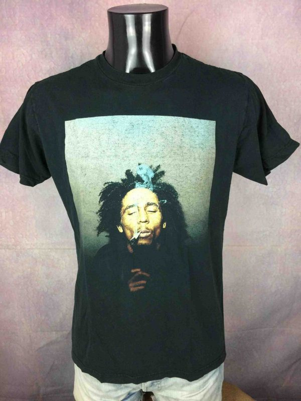 BOB MARLEY T Shirt Official Zion Rootswear Gabba Vintage 2 scaled - BOB MARLEY T-Shirt Zion Rootswear Official
