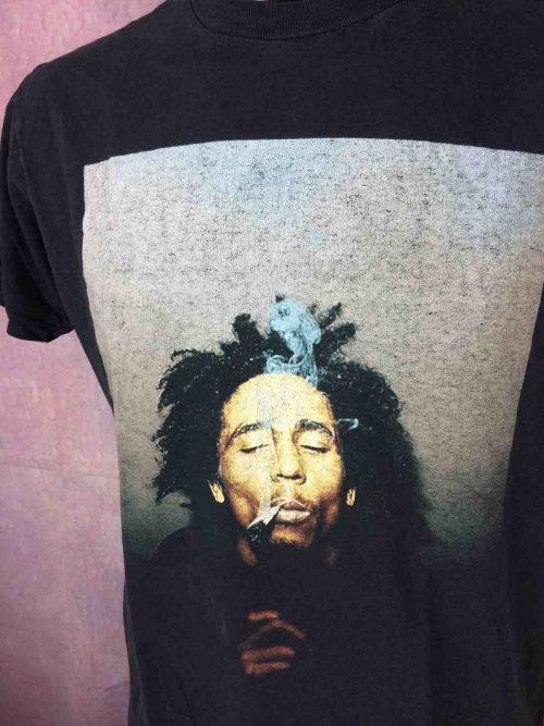 T-Shirt BOB MARLEY, Official License, marqueZion Rootswear, Wailers Rasta Reggae Jamaica