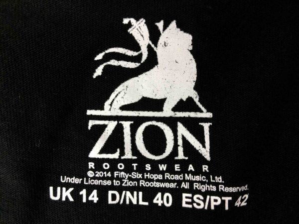 BOB MARLEY T Shirt Zion Rootswear Official Gabba Vintage 1 scaled - BOB MARLEY T-Shirt Zion Rootswear Official