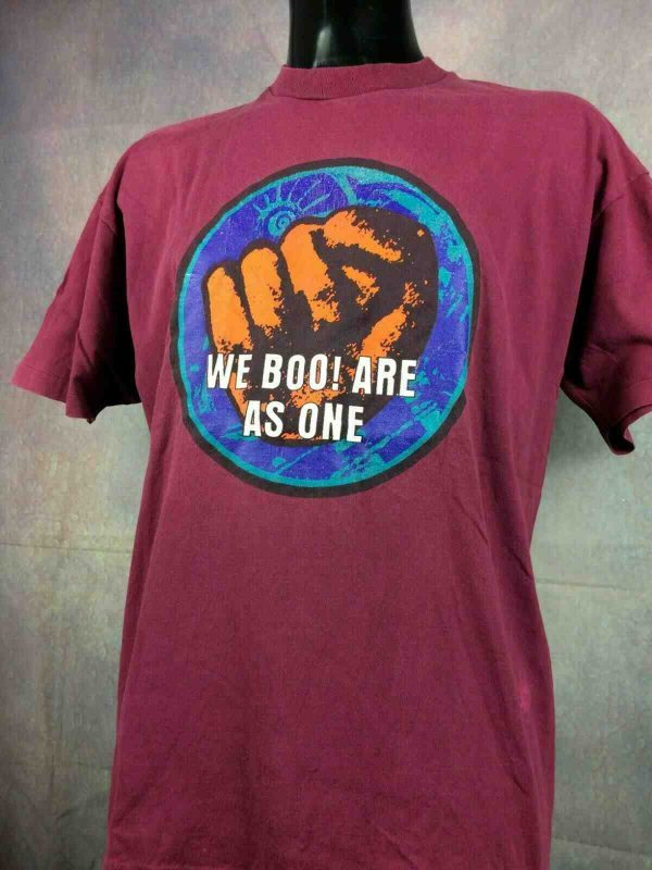 BOO RADLEYS T Shirt We Boo Are As One 90s Gabba Vintage 3 - BOO RADLEYS T-Shirt We Boo Are As One 90s