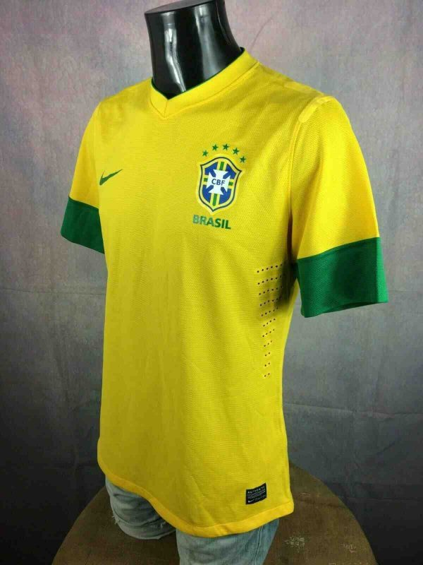 BRAZIL Jersey 2012 2013 Home Nike Copa Cup Gabba Vintage 1 - BRAZIL Jersey 2012 2013 Home Nike Copa Cup