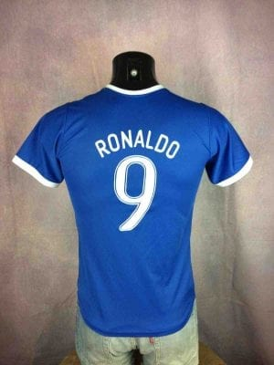 BRAZIL Jersey Ronaldo #9 Away Brasil CBF - Gabba Vintage