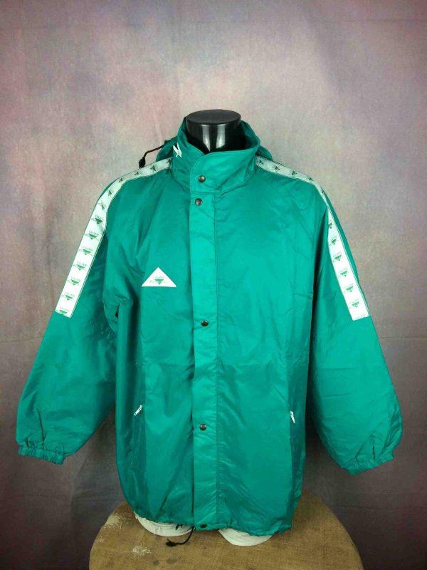 CALANNI Rain Jacket Made in Italy VTG 90s - Gabba Vintage