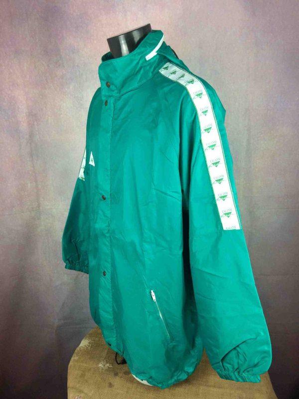 CALANNI Rain Jacket Made in Italy VTG 90s Gabba Vintage 3 scaled - CALANNI Rain Jacket Made in Italy VTG 90s