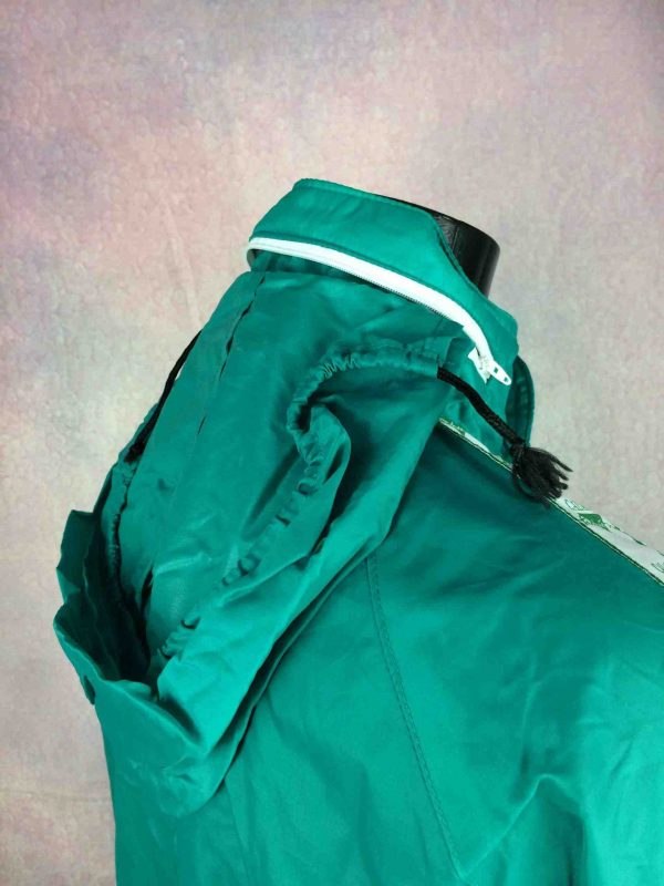 CALANNI Rain Jacket Made in Italy VTG 90s Gabba Vintage 5 scaled - CALANNI Rain Jacket Made in Italy VTG 90s