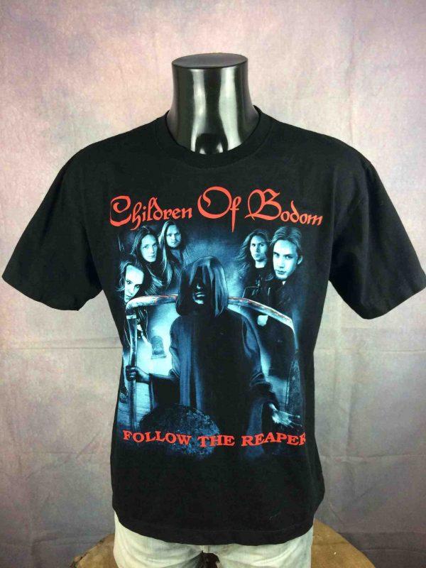 CHILDREN OF BODOM T Shirt Follow The Reaper Gabba Vintage 2 scaled - CHILDREN OF BODOM T-Shirt Follow The Reaper