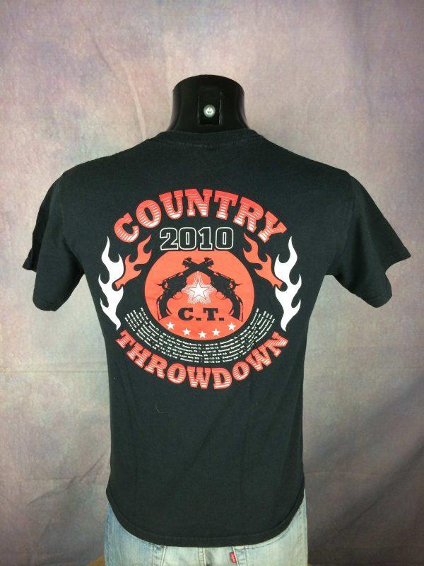 COUNTRY THROWDOWN T Shirt 2010 US Festival Gabba Vintage 1 scaled - COUNTRY THROWDOWN T-Shirt 2010 US Festival
