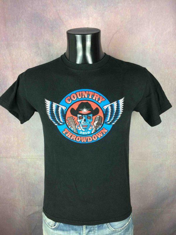 COUNTRY THROWDOWN T Shirt 2010 US Festival Gabba Vintage 2 scaled - COUNTRY THROWDOWN T-Shirt 2010 US Festival