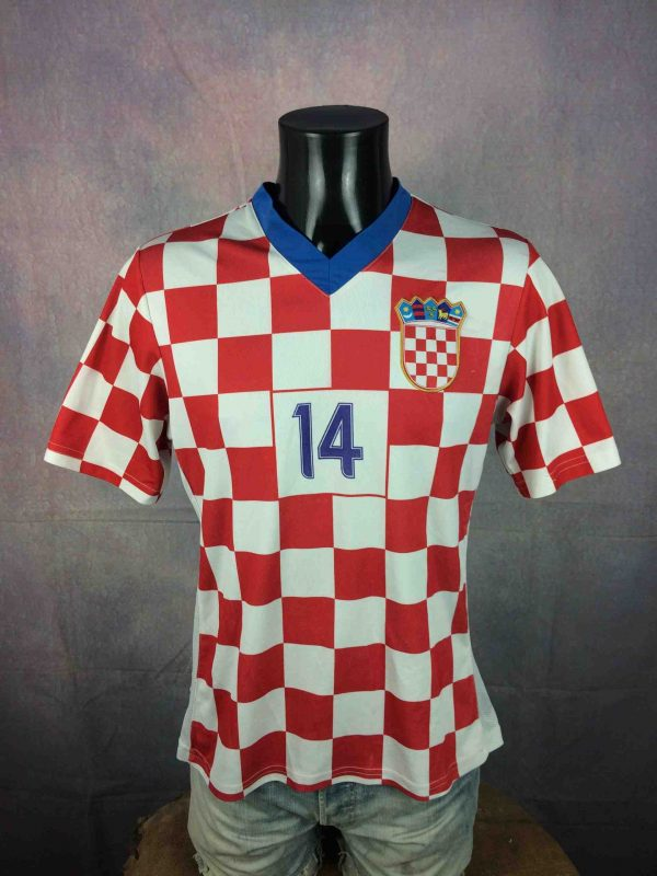 CROATIA Jersey 14 Modric Home 2008 Replica Gabba Vintage 2 scaled - CROATIA Jersey #14 Modrić Home 2008 Replica