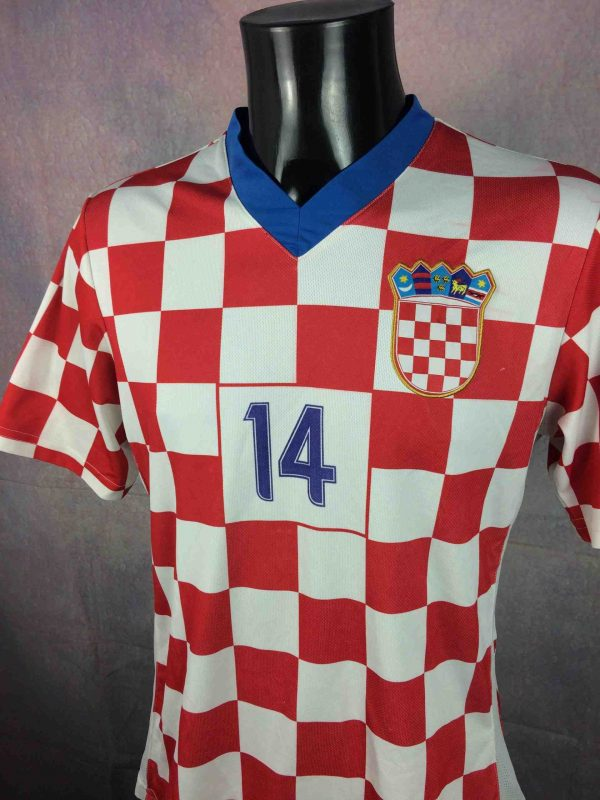 CROATIA Jersey 14 Modric Home 2008 Replica Gabba Vintage 3 scaled - CROATIA Jersey #14 Modrić Home 2008 Replica
