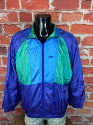 DYNAM Jacket Veste Chaqueta True Vintage 90s Old School Double Lining Nylon 3 scaled - DYNAM Veste Vintage 90s Windbreaker Nylon
