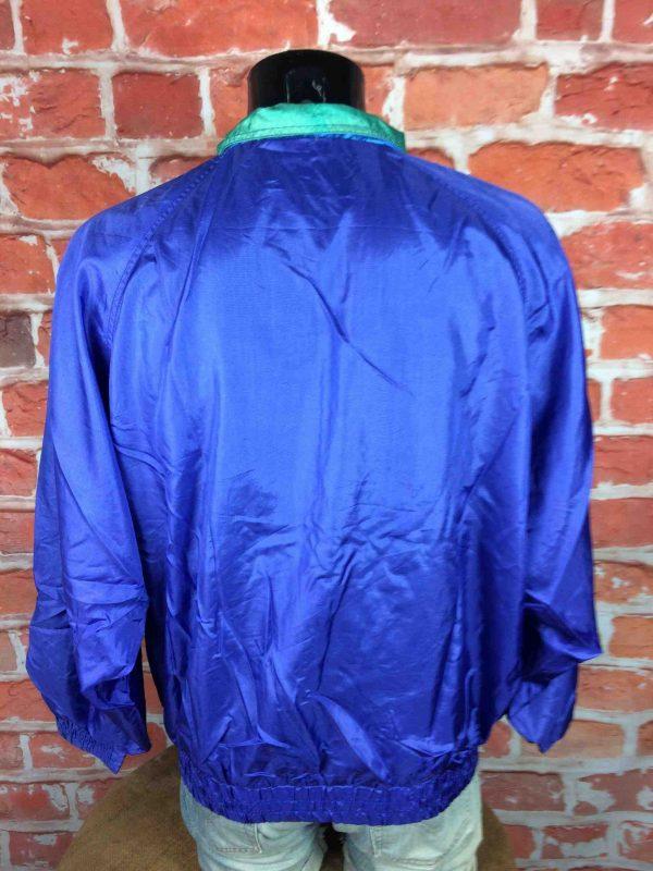DYNAM Jacket Veste Chaqueta True Vintage 90s Old School Double Lining Nylon 5 scaled - DYNAM Veste Vintage 90s Windbreaker Nylon