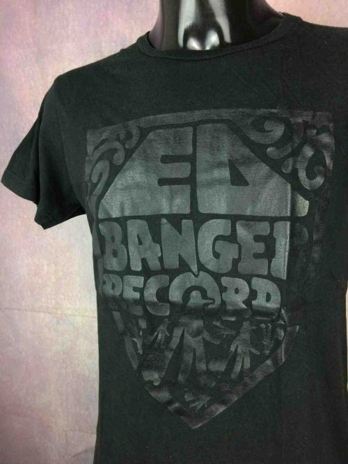 T-Shirt ED BANGER RECORDS, Ancien Logo, marque Cool Cats, Electronic Music Justice Oizo Club Concert