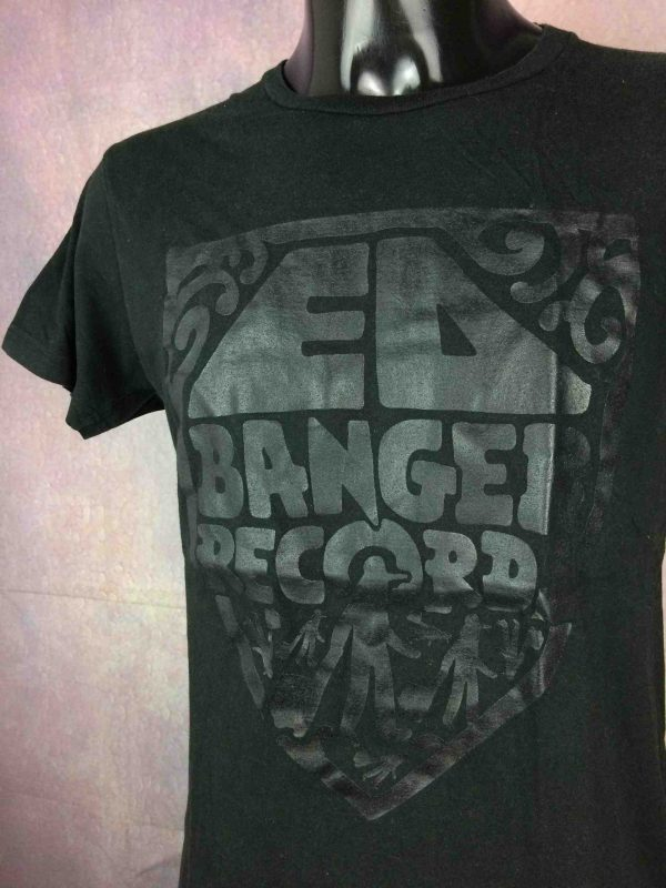 ED BANGER RECORDS T Shirt Old Logo Electronic Music Justice Oizo Cool Cats Club Gabba Vintage 2 scaled - ED BANGER RECORDS T-Shirt Old Logo Electro