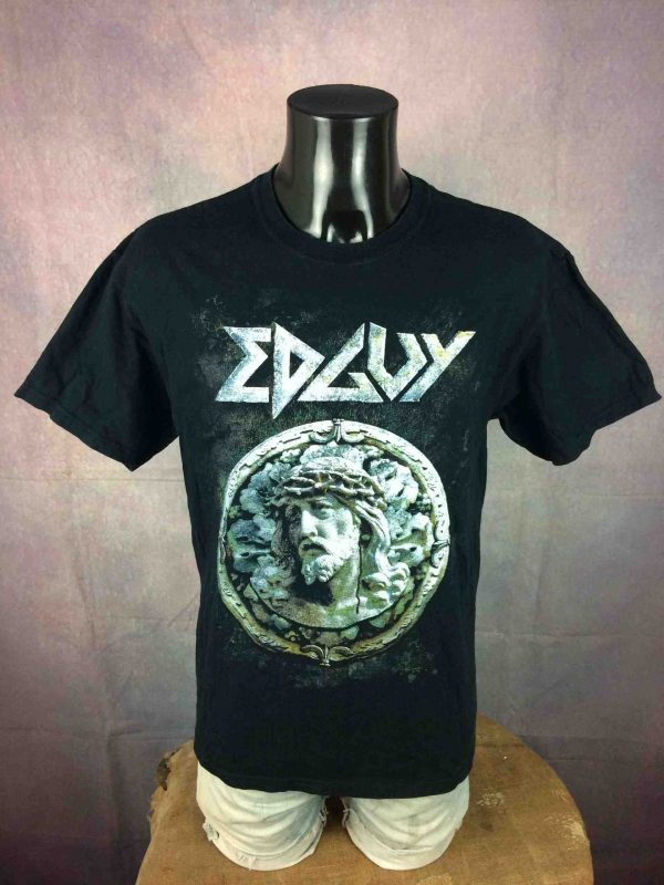 EDGUY T Shirt Tinnitus Over Europe 2010 Tour Gabba Vintage 2 scaled - EDGUY T-Shirt Tinnitus Over Europe 2010 Tour