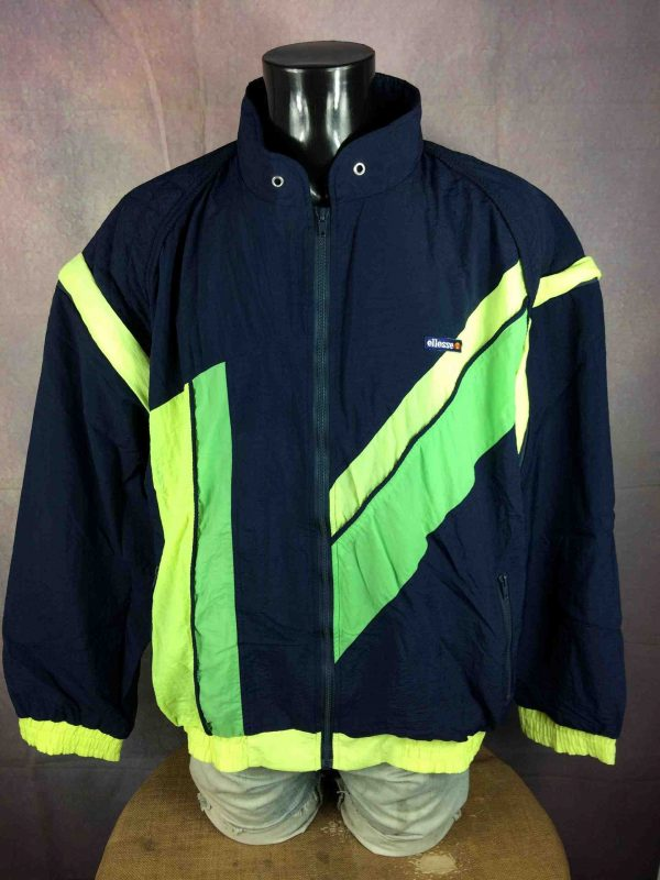 ELLESSE Jacket Vintage 90s Removable Sleeves Gabba Vintage 1 scaled - ELLESSE Veste Vintage 90s Removable Sleeves